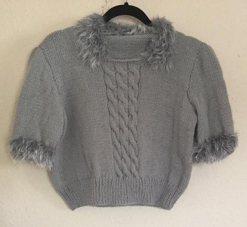 Silver Grey Sweater